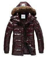 free shipping two colors men's down jacket fashion man winter coat jacket warm parka duck down jacket 328