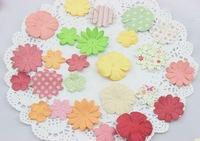 150pcs/lot,  Beautiful Paper Flowers Hand Made DIY Small Party Wedding Christmas Present Decoration