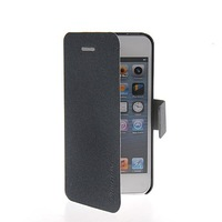 New Arrival luxury Slim Leather Flip Wallet Card Pouch Stand Back Case Cover For Apple iPhone 5 / 5S