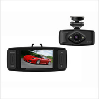 Free Shipping L6000 2.7 inch Novatek  Full HD 1920*1080P 30FPS With 120 Ultra Wide Degree  Super Night Vision Car DVR