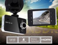 HOT! K6000 Novatek 1920*1080P FULLHD Car cam DVR, Car record, black box, 2.7 lcd+Night Vision+G-Sensor+Motion Detection
