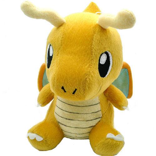 """Pokemon Plush Toy Dragonite 7"""" Cute Collectible Soft Stuffed Animal Doll(China (Mainland))"""
