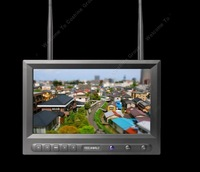 """Free Shipping!FEELWORLD FPV-819DT 5.8G FPV Wireless 8"""" HD 800*480 Monitor Dual 32ch Receiver"""