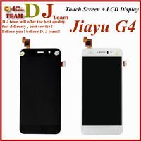 Freeshipping 100% top quality original jiayu G4 G4S touch screen LCD display screen black white, JIAYU G4s screen in stock