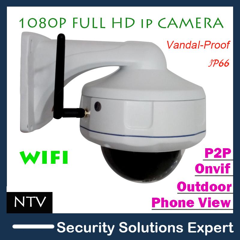 2mp hd 1920*1080p sony sensor im freien low lux ir wifi wireless-netzwerk-ip-kamera