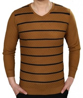 2014 Summer New Generic Men's Patterned Long Sleeve T-Shirt Free Shipping