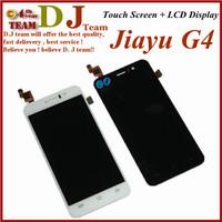100% original jiayu G4 touch Screen Digitizer + LCD display screen for jiayu G4s cell phone black white
