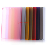 Free Shipping Turnkey frosted shell Case Cover Stand  for ipad air  chenkang