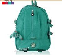 2014 New arrival water resistant nylon kip backpack bag school bag for girl/boy multi-function bag Travel Bag free shipping !