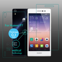 Full body front back Tempered Glass Screen Protector for Huawei Ascend P7 Screen Protective Film with Retail Packaging