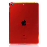 Free Shipping  TPU lucency  Case Cover Stand  for ipad air  chenkang