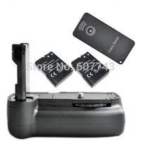 Battery Grip D3100 D5100 +2 x decode EN-EL14 battery + IR Remote for Nikon SLR camera