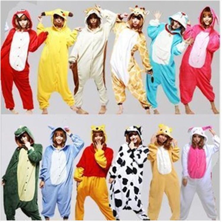 Nieuwe 2014 volwassen kerst kostuums cosplay dier onesies pyjama memes