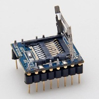 Free Shipping NEW MP3 Voice Module U-disk Audio Player SD Card WTV020-SD-16P