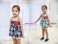 Newborn Baby Girls Toddler Children Bebe Infantil Kids Summer Floral Slip Top Dress Vestidos Clothes Clothing Roupa 0-3 Years