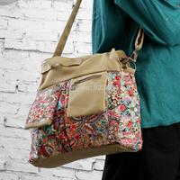New arrival 2014 active shoulder bag cross-body women's handbag national trend bags women's handbag large bag