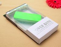 free ship 5pcs Ultra-thin 5600mah perfume polymer mobile power bank general charger external backup battery pack+retail box