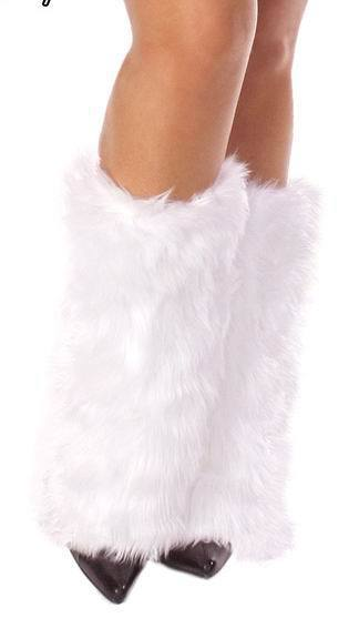 Excellent quality Winter Warm Leg Warmers For Womens 4SP005+Cheap Price+Free shipping white fur warmer(China (Mainland))