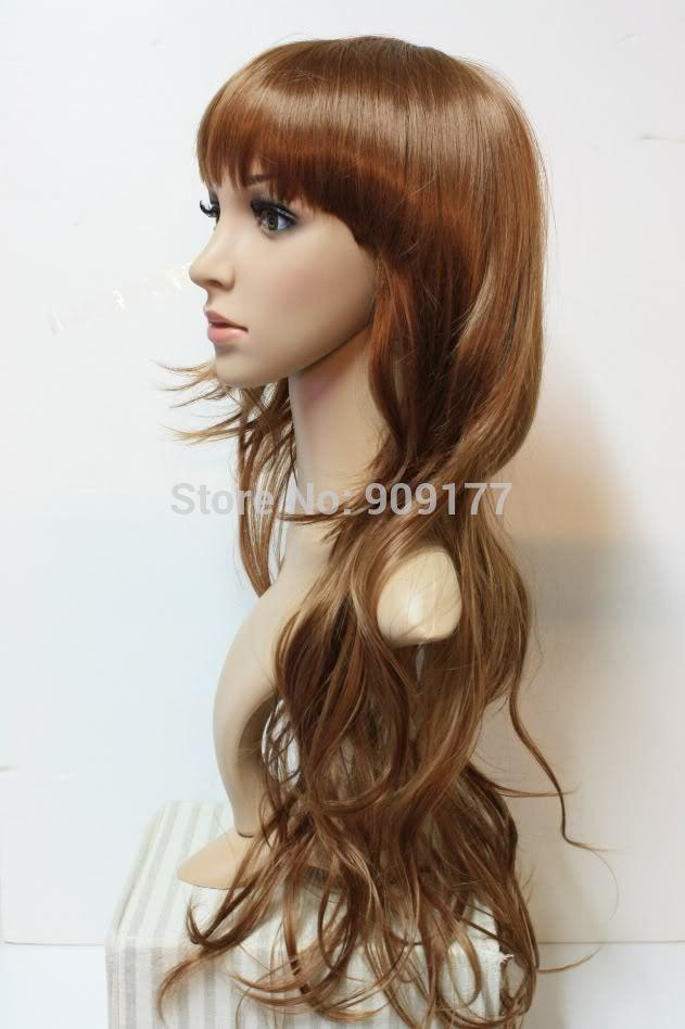 Cosplay Long Dark Brown Auburn Curly Hair Wig For Sale 2015 | Personal Blog