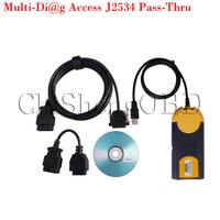 2014 Newest Version Multi-Di@g Access J2534 Pass-Thru OBD2 Device V2013 with keygen 2013.1