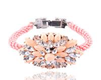New 2014 Fashion bracelet high quality shourouk crystal bracelets & bangles for women jewelry wholesale factory price