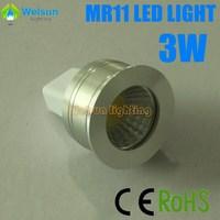 6pcs/lot dimmable GU4 MR11 3W cob LED Light Energy Saving Spotlight Bulbs cool White Warm White