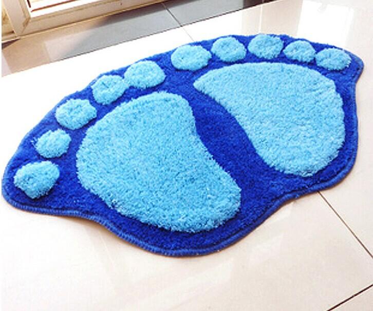 Bonito pegada Shaggy porta tapete tapete cozinha de banho tapete Pad(China (Mainland))