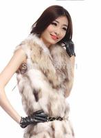 2014 the new elegance  special offer Ms han edition rabbit fur fur Led detachable fox fur coat winter fur vest Wholesale retail