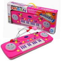Hot sale 25 Keys Multifunctional Learning Electronic Organ Preschool Kid Piano Music Enlightenment Children's Birthday Gift