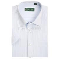 2014 High Quality Men's brand shirt Mens Short sleeve dress shirt men Classic easy care business Formal shirts for men