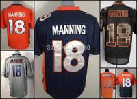 Cheap Denver man jersey, 18#  Peyton Manning American Football  jerseys,Free shipping