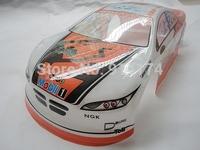 1/10  RC racing car PVC body shell  for 1/10 rc drift car 200mm,henglong hsp 1/10 body  No:061 free shipping