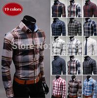 Men Shit Blusas Mens dress shirts camisas hombre Long Sleeve Free shipping Black Men clothing styles camisas masculinas social
