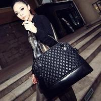 Portable big bag women handbag retro fashion female bag new 2014 models fashion Lingge designer handbag Free shipping