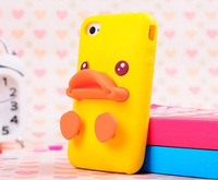 Factory price 2014 Hot Cute Duckbill Style Mobile Phone Case For iphone 5 Iphone 5s 1 Piece Free Shipping