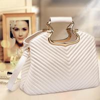 Brand 2014 desigual bags women handbag vintage fashion emboss female tote,lady plaid black beige shoulder bags gift girl