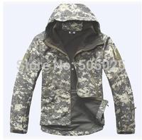 Free drop shipping Camouflage Jackets winter coat windbreaker men and women couple models streetwear