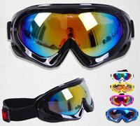 Anti-fog ski goggles ski glasses for children of men and women skiing glasses wind dust outdoor equipment