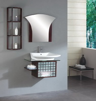 Solid wood Bathroom Vanity AM-004