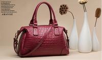 new 2014 ms leather handbag single shoulder bag fashion retro portable bag, leather bag of free shipping