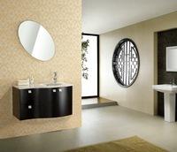 Solid wood Bathroom Cabinet X-042