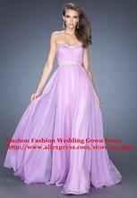 wholesale lavender formal dress