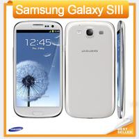 Original Cell phone Samsung Galaxy S3 i9300 Quad Core 8MP Camera NFC 4.8'' GPS Wifi 3G Unlocked Phone Refurbished Add Free gifts
