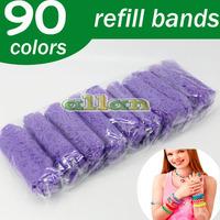 Wholesale Crazy Rubber Loom Band Kit for Bracelet