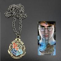 Movie Harry Potter Hogwarts Metal Necklace