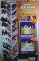 folding fiber shoe storage hanging bag organizer shoe hanger