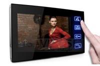 "7"" Wired Home Security Video Intercom Door Phone Doorbell System  Door Bell Mornitor Free Shipping"