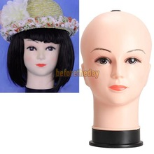 BET Real Female Mannequin Head Model Wig Hat Jewelry Display Cosmetology Manikin