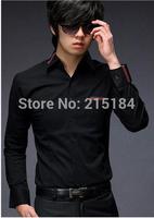 Mens dress shirts Long Sleeve Men Shit Free shipping Camisas hombre Masculinas social factory connection clothing