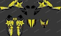 New DECALS STICKERS Graphics for SUZUKI LTZ400 LTZ 400 2009 2010 2011 2012 ATV 0352